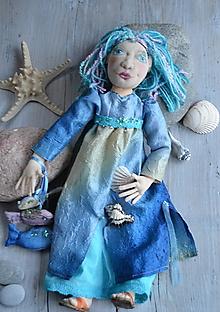 Bábiky - Malá morská panna - 6588251_