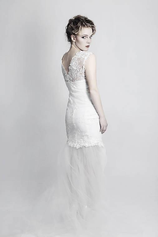 Svadobné šaty Mermaid   ceccilia - SAShE.sk - Handmade Šaty a49084881eb