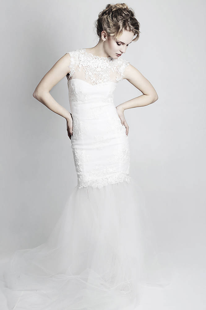 Svadobné šaty Mermaid   ceccilia - SAShE.sk - Handmade Šaty 30efc6e576b