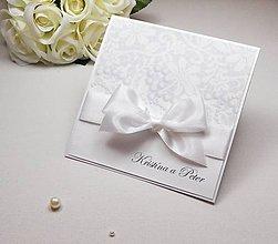 Papiernictvo - Svadobné oznámenie Pearl Dream II. - 6591110_