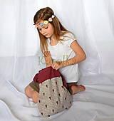 Detské tašky - Taška pre deti - Srdce - 6590630_