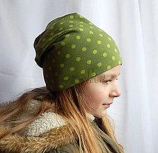 Detské čiapky - Čiapka pre deti - obojstranná  - Veselá ZĽAVA - 6591540_