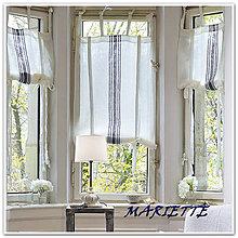 Úžitkový textil - Lněná roletka š.60xd.130cm - 6591364_