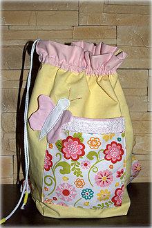 Detské tašky - Ruksak, batôžtek motýlik 35X30, Ihneď k odberu - 6590156_