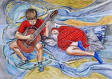 Akvarelová maľba