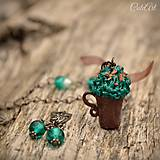 Kakao s mentolovým krémom - sada šperkov