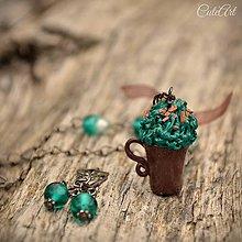 Sady šperkov - Kakao s mentolovým krémom - sada šperkov - 6591301_