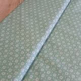 - Bavlnená látka - šedo zelená na režnej 6 - 6593065_