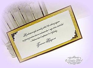 Papiernictvo - Pozvánky