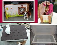 Zateplená búdka pre psa-ihned k odberu :)