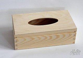 Polotovary - Krabička na vreckovky otváracia - 6591927_
