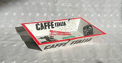 """Nádoby - Miska """"Caffé Italia"""" - 6595444_"""