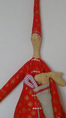 Bábiky - VIANOČNÝ ŠKRIATOK - 6594972_