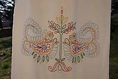 Nákupné tašky - Claudianum: Vyšívaná nákupná taška Folklór - 6597086_