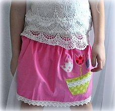 Detské oblečenie - suknička kvetinky, 98 Ihneď k odberu - 6595781_