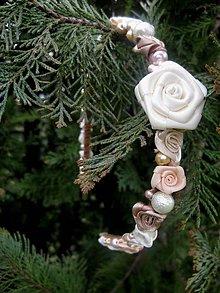 Ozdoby do vlasov - FOR YOU powder gold roses ( púdrovo zlatá) - čelenka - akcia - 6593618_
