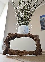 Zrkadlá - Zrkadlo s dreveným rámom - 6594768_