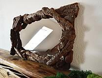 Zrkadlá - Zrkadlo s dreveným rámom - 6594769_