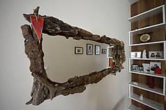 Zrkadlá - Zrkadlo s dreveným rámom - 6594770_