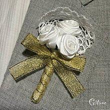 Pierka - Veľké svadobné pierka Romance - 6593937_