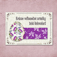 Papiernictvo - Vintage veľkončná pohľadnica - veľkonočné vajíčko 2 (listy 1) - 6596411_