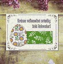 Papiernictvo - Vintage veľkončné pohľadnice - veľkonočné vajíčko - 6596870_