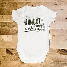 Detské oblečenie - Huncút som - 6598918_