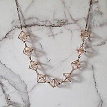 Náhrdelníky - náhrdelník geometrica - 6600039_