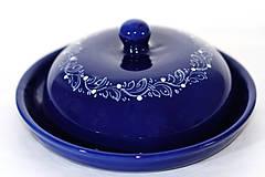 - Kobaltová maselnička na veľké maslo - 6599361_