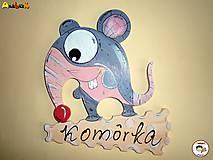 Tabuľky - Menovka - komora - 6598671_