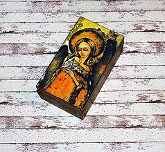 Krabičky - Dievča s motýľom - 6598910_