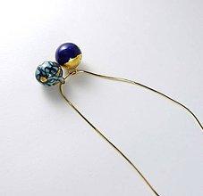 Náhrdelníky - Tana šperky - keramika/zlato - 6598038_