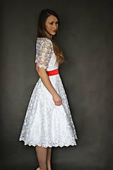 Šaty - Svadobné šaty vo vintage štýle z tylovej krajky - 6598130_