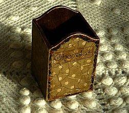 Krabičky - Krabička na ceruzky a perá - 6600231_
