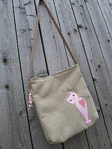 Veľké tašky - Mačičková - 6600472_