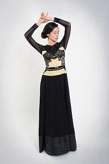 Šaty - Golden flamencoooo - 6603876_