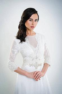 Šaty - Zuzana Biela veľ.38SKLADOM - 6603899_
