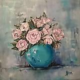 Obrazy - Ruže - 6603718_