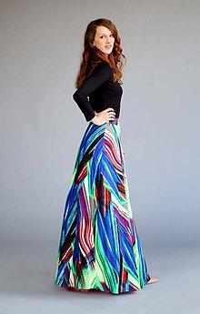 7fb4ec9ef0e0 Sukne - Dlhá sukňa so vzorom - 6606841