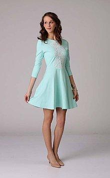 Šaty - Šaty s čipkou - 6607031_