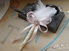 Pierka - svadobné pierko - 6604324_