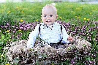 Detské doplnky - Prútené hniezdo - 6607083_