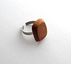 Prstene - Letitý slivkový obdĺžnik - 6607317_