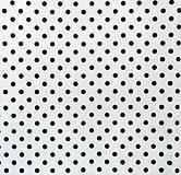 - Filc s potlačou - 20x30 cm, hrúbka 1 mm - bodkovaný, biely - 6610750_