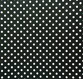 - Filc s potlačou - 20x30 cm, hrúbka 1 mm - bodkovaný, čierny - 6610764_