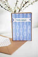 Papiernictvo - Pohľadnica Všetko najlepšie(námornícka) - 6609646_