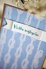 Papiernictvo - Pohľadnica Všetko najlepšie(námornícka) - 6609650_