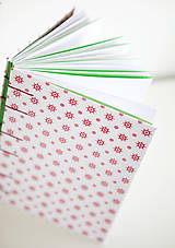 Papiernictvo - Červený námornícky zápisník - 6609663_