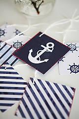Papiernictvo - Námornícke visačky na darčeky - 6609714_