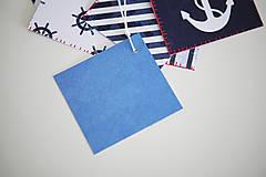 Papiernictvo - Námornícke visačky na darčeky - 6609715_